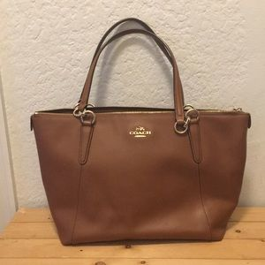 Coach Ava Tote - Saddle Brown